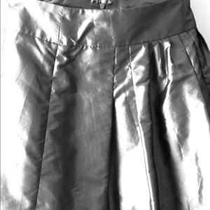 Shimmer grey skirt size 8